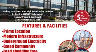 Bahria Enclave Apartment for sale in Islamabad at Shelters Arcade