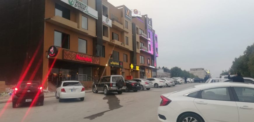Shop Near McDonald Bahria Town Phase 7 Already Rented On 64000rs Per Month For Sale Ideal Location Reasonable Price