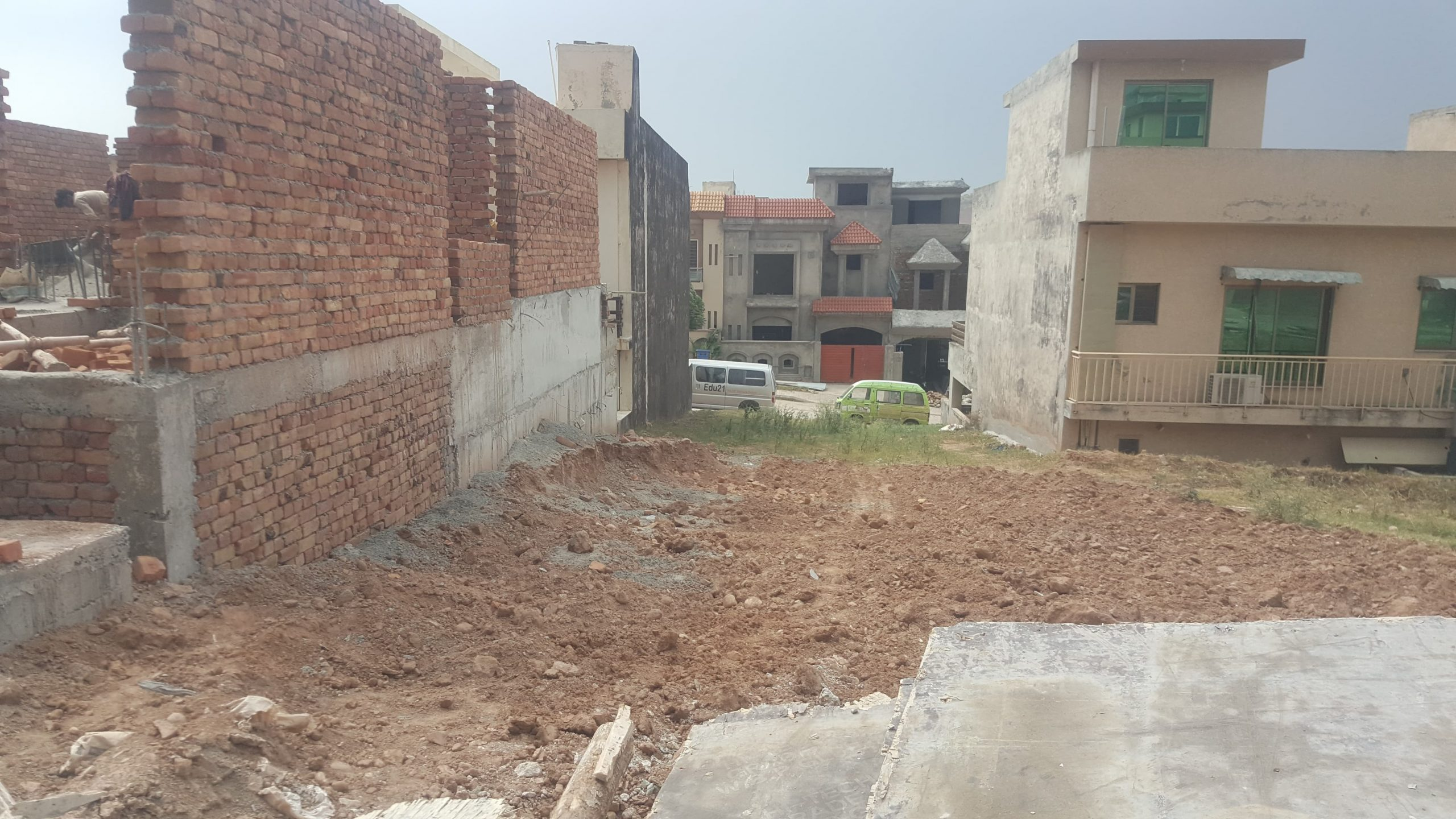 Bahria Town Phase 8 Overseas Sector 5 Plot For Sale 5 marla On Ideal Location Ready For Construction Reasonable Price